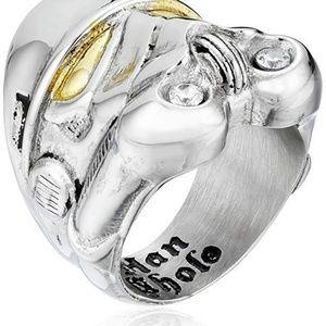 Star Wars Adult Mens Stormtrooper Ring Silver
